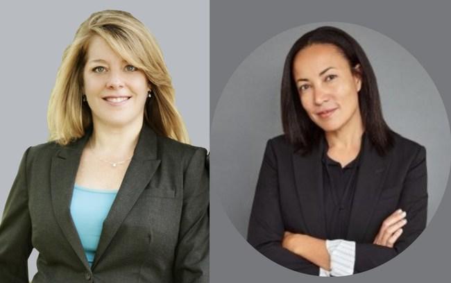 Left to right:  Rachel Saunders, Kimberly Island-Johnson