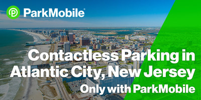 The ParkMobile app is now available at all of Atlantic City's more than 1,500 street parking spaces.