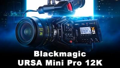 Blackmagic 12K Camera URSA Mini Pro