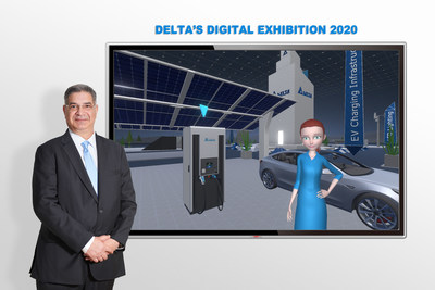 Delta Launches New Energy-Efficient Solutions for 5G and IoT Edge Computing, e-Mobility and Smart Manufacturing at its Digital Exhibition (PRNewsfoto/Delta Electronics BV)