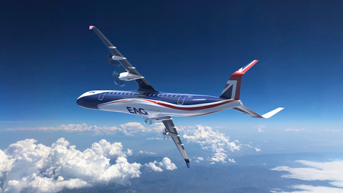EAG Hybrid Electric Regional Aircraft (HERA) (PRNewsfoto/Electric Aviation Group (EAG))