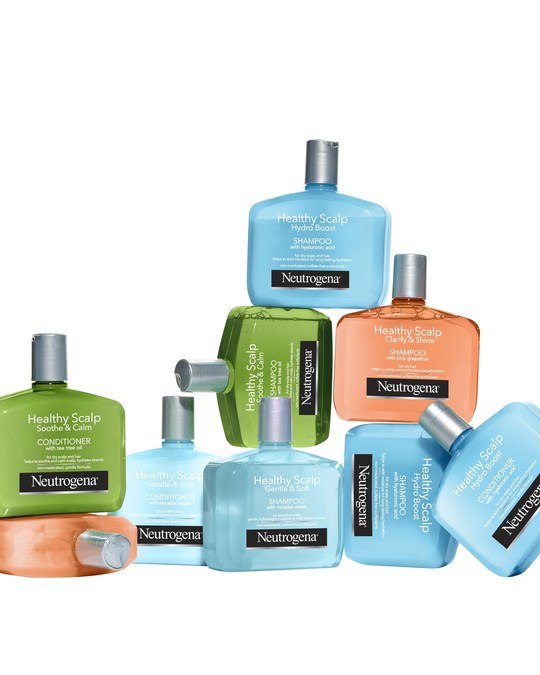 Neutrogena Introduces New Healthy Scalp Haircare Collection