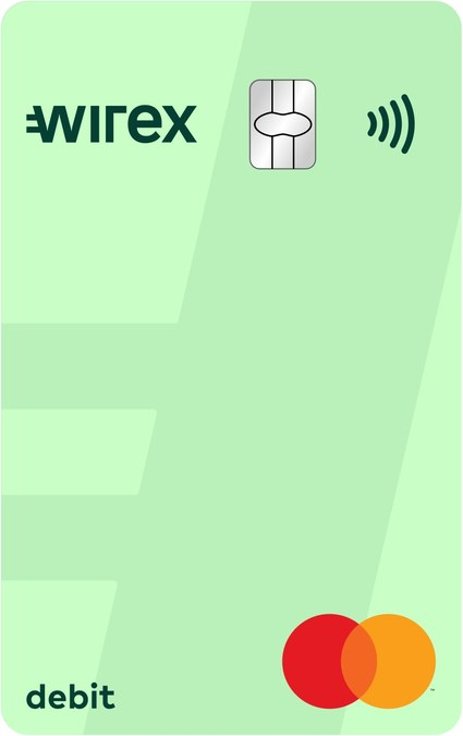 Así lucirían las nuevas tarjetas de Wirex y Mastercard para el uso de criptomonedas a nivel mundial.
