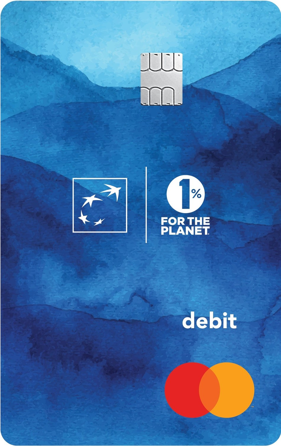 Bank of the West 1% for the Planet Account Debit Card