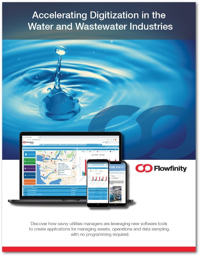 Accelerating Digitization in Water and Wastewater Industries White Paper