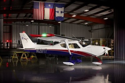 The new eColt will be based on Texas Aircraft's popular Colt S-LSA
