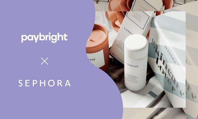 PayBright x Sephora Canada (CNW Group/PayBright)