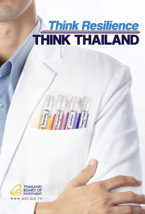 """The Thailand Board of Investment has unveiled a new 2020 campaign, titled """"Think Resilience, Think Thailand""""."""