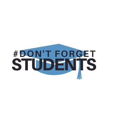 Don't Forget Students Logo (CNW Group/Canadian Federation of Students)