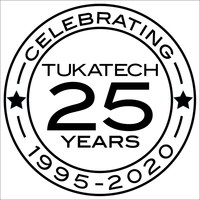 Tukatech 25-Years Logo