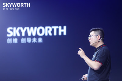 Tony Wang, Chief Executive and President of SKYWORTH TV