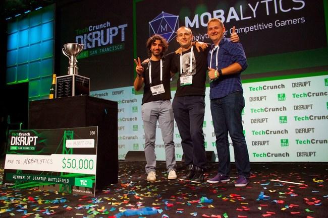 Mobalytics wins Techcrunch Disrupt 2016