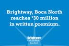 Brightway, Boca North makes company history, reaching $30 million in written premium