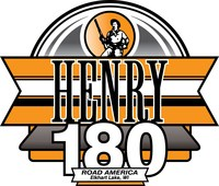 The Henry 180 NASCAR Xfinity Series race takes place on Saturday, August 8th at Road America. (PRNewsfoto/Henry Repeating Arms)