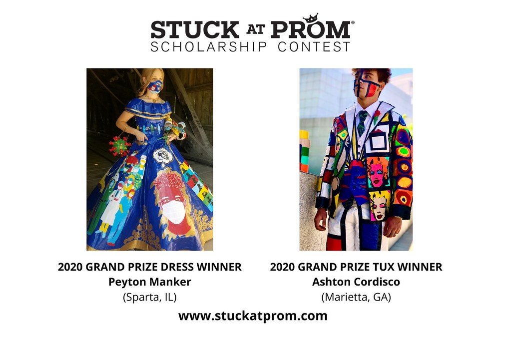 Duck Brand Announces Grand Prize Winners Of 20th Annual Stuck At Prom Contest