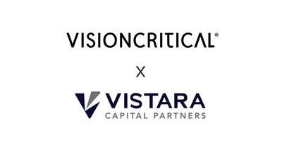 Vision Critical + VIstara logo lockup