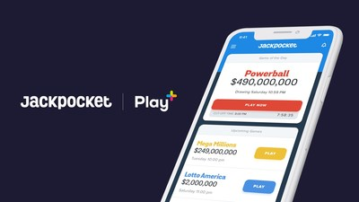 Jackpocket lottery app and Sightline Payments announced their partnership integrating Sightline's Play+ seamlessly with Jackpocket's mobile user experience for playing the lottery.