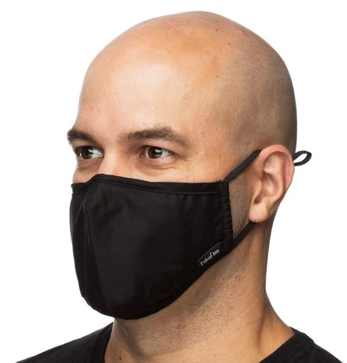 Debrief Me®'s X95 anti pollution face mask with filter is back in stock in time for the anticipated wildfires season.