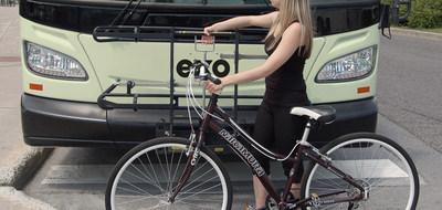 La saison de vélo bat son plein chez exo! (Groupe CNW/exo)