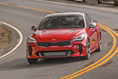 El Telluride y el Stinger de Kia, ganadores de sus segmentos en el estudio APEAL 2020 de J.D. Power (PRNewsfoto/Kia Motors America)