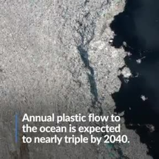 Research Finds Plastic Flows Into the Ocean Expected to Triple by 2040--but Immediate Action Could Stem Tide by More Than 80%