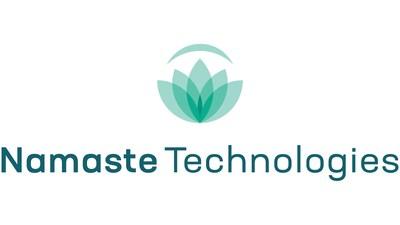 Namaste Technologies Inc. (TSXV: N) (FRANKFURT: M5BQ) (OTCMKTS: NXTTF) (CNW Group/Namaste Technologies Inc.)