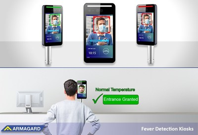 Body temperature screening kiosks help businesses protect staff and customers