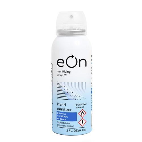eOn Sanitizing Mist(TM) Product Photo