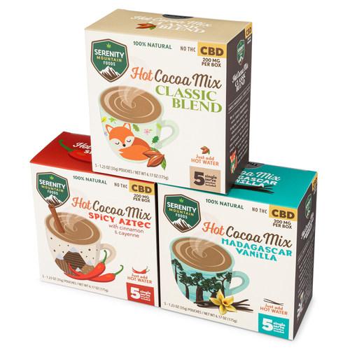CBD Hot Cocoa Mixes