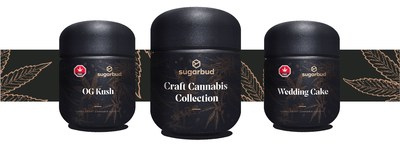 Sugarbud's Craft Cannabis Collection (CNW Group/Sugarbud Craft Growers Corp.)
