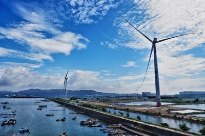 "China's first 8MW offshore wind turbine featuring ""black start"" technology"