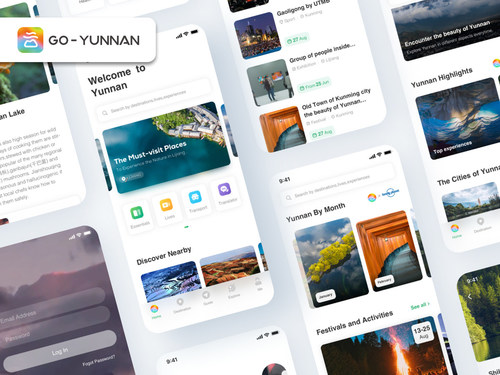 Go-Yunnan launches on Twitter, Facebook and YouTube (PRNewsfoto/Go-Yunnan)