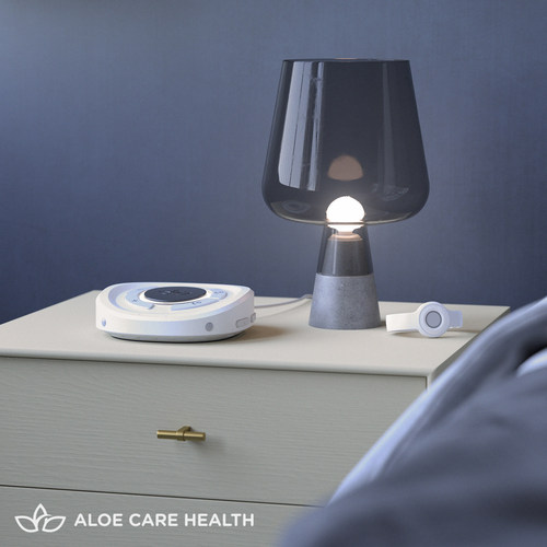 Aloe Care Essentials for older adults, the world's most advanced medical alert system. It's a better way to give and receive care. (PRNewsfoto/Aloe Care Health)