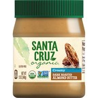 Santa Cruz Organic® Releases New Creamy Dark Roasted Almond Butter