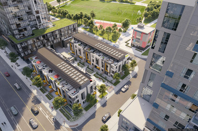 The Daniels Corporation's Field House EcoTowns in Regent Park. (CNW Group/The Daniels Corporation)