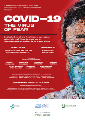 "Consulcesi: ""Covid-19 The Virus of Fear"" An Italian Movie Regarding The Lesson Learned From The Pandemic"
