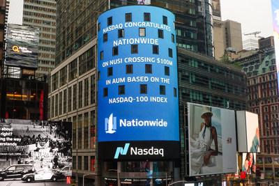 Nasdaq Tower - NUSI Surpasses $100M in Assets Under Management
