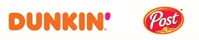 Dunkin' and Post cereal logo