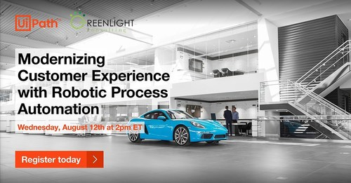 Join Greenlight Consulting and UiPath for a live Webinar on August 12th (CNW Group/Greenlight Consulting)