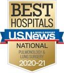 National Jewish Health Named a Top Respiratory Hospital