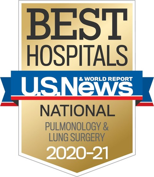 For the 24th consecutive year, National Jewish Health has been named a top respiratory hospital in the nation.