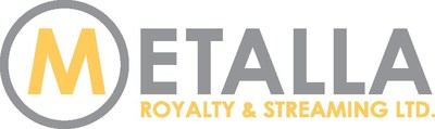 Metalla Royalty and Streaming Ltd. Logo (CNW Group/Metalla Royalty and Streaming Ltd.)
