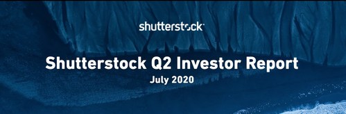 Shutterstock Reports Second Quarter 2020 Financial Results