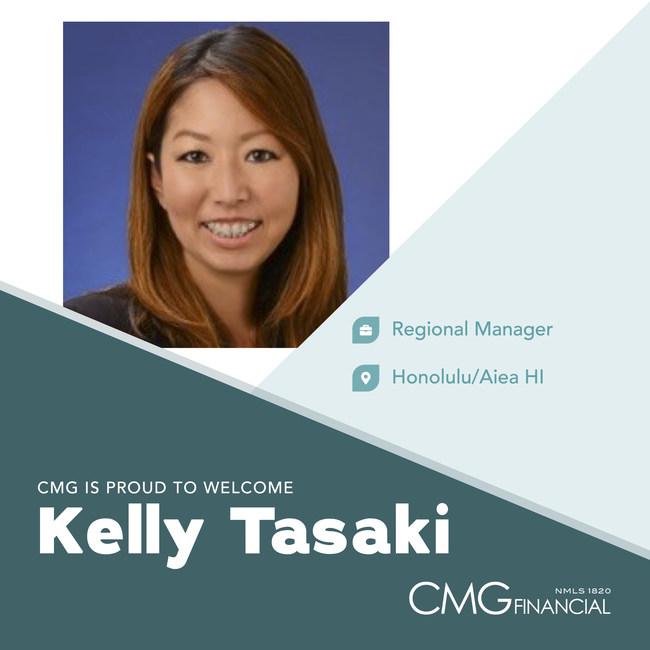 Kelly Tasaki, Regional Manager-Hawaii, CMG Financial