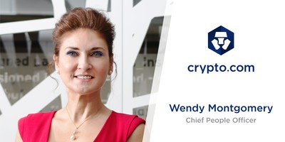 Crypto.com Appoints Wendy Montgomery as Chief People Officer. (PRNewsfoto/Crypto.com)