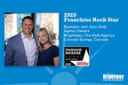 Brightway Insurance Agency Owners in Colorado named 2020 Rock Star Franchise Owners by national research firm