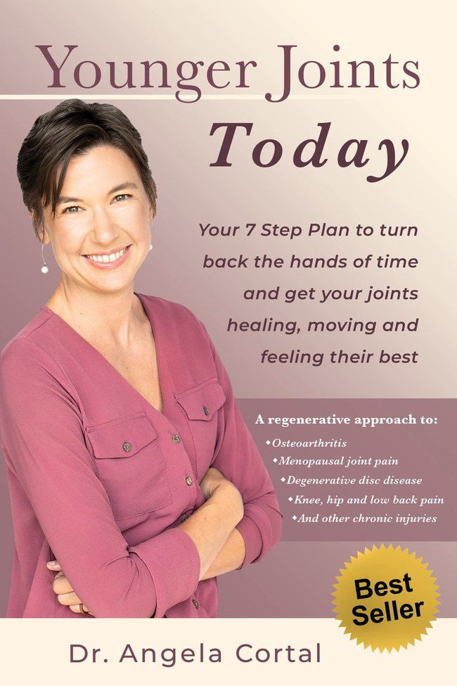 Best Seller 'Younger Joints Today' by Dr. Angela Cortal