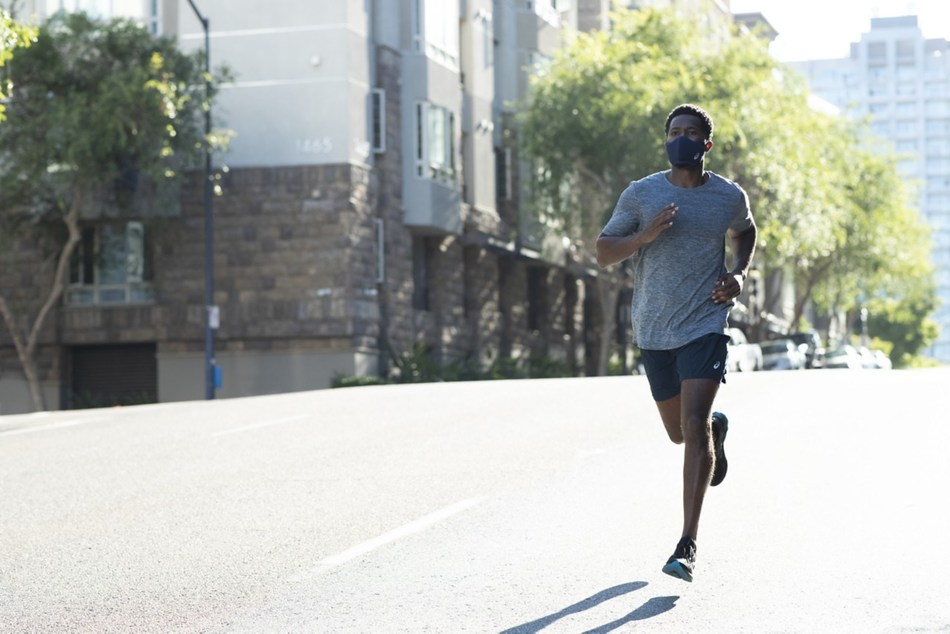ASICS announces a revolutionary face cover for runners - the ASICS RUNNERS FACE COVER