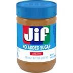 Jif Announces New No Added Sugar Creamy Peanut Butter Spread