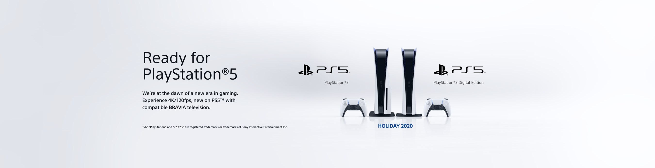 Sony Electronics Announces Ready For Playstation 5 For Current Tvs